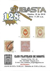 20141005_subasta128ClubFilatelicoBog